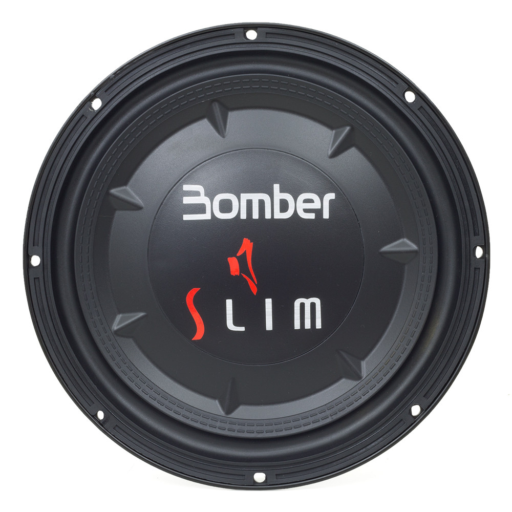 "Subwoofer 10"" New Bomber Slim - 200 Watts RMS"