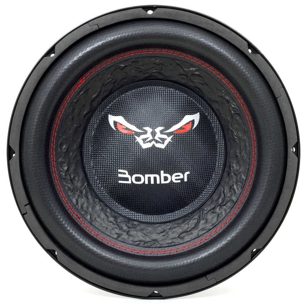 """Subwoofer 12"""" Bomber Bicho Papão - 2000 Watts RMS - 2 + 2 Ohms"""