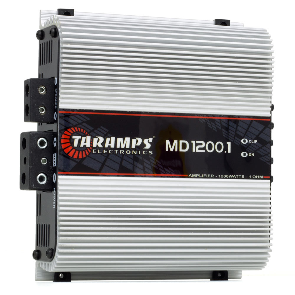 Módulo Amplificador Digital Taramps MD 1200.1 Canal - 1200 Watts RMS - 1 Ohm