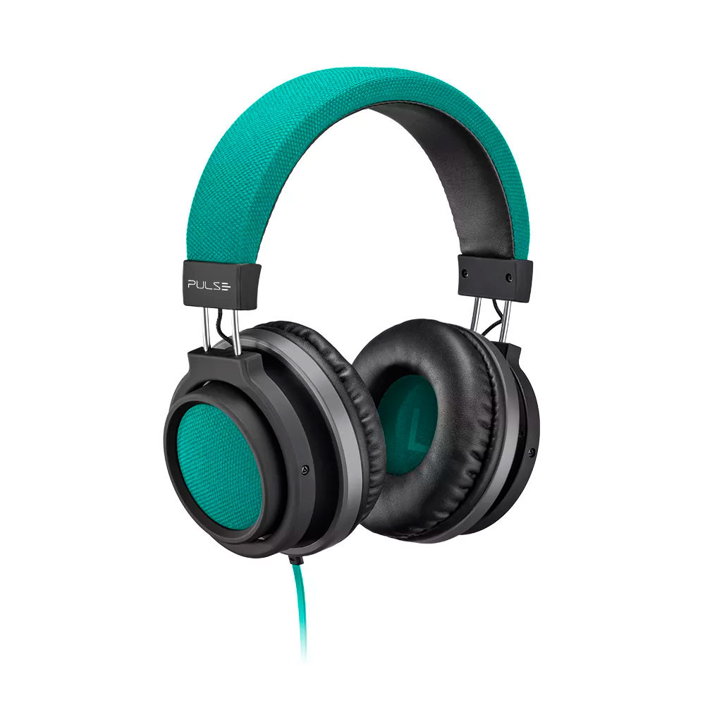 Fone de Ouvido Pulse Headphone Large P2 Verde - PH227