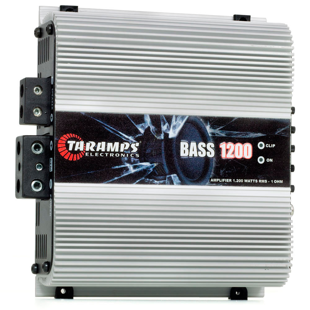 Módulo Amplificador Digital Taramps Bass 1200 - 1 Canal - 1200 Watts RMS - 1 Ohms