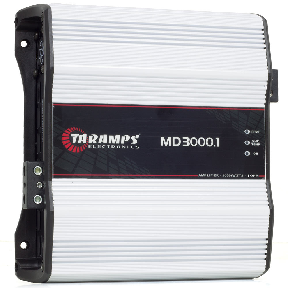 Módulo Amplificador Digital Taramps MD 3000.1 Canal - 3000 Watts RMS - 1 Ohm