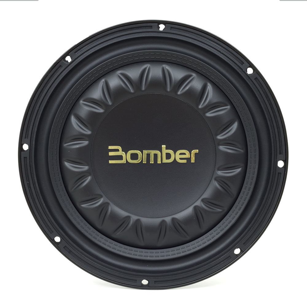 """Subwoofer 10"""" Bomber Slim High Power - 350 Watts RMS - 4 Ohms"""