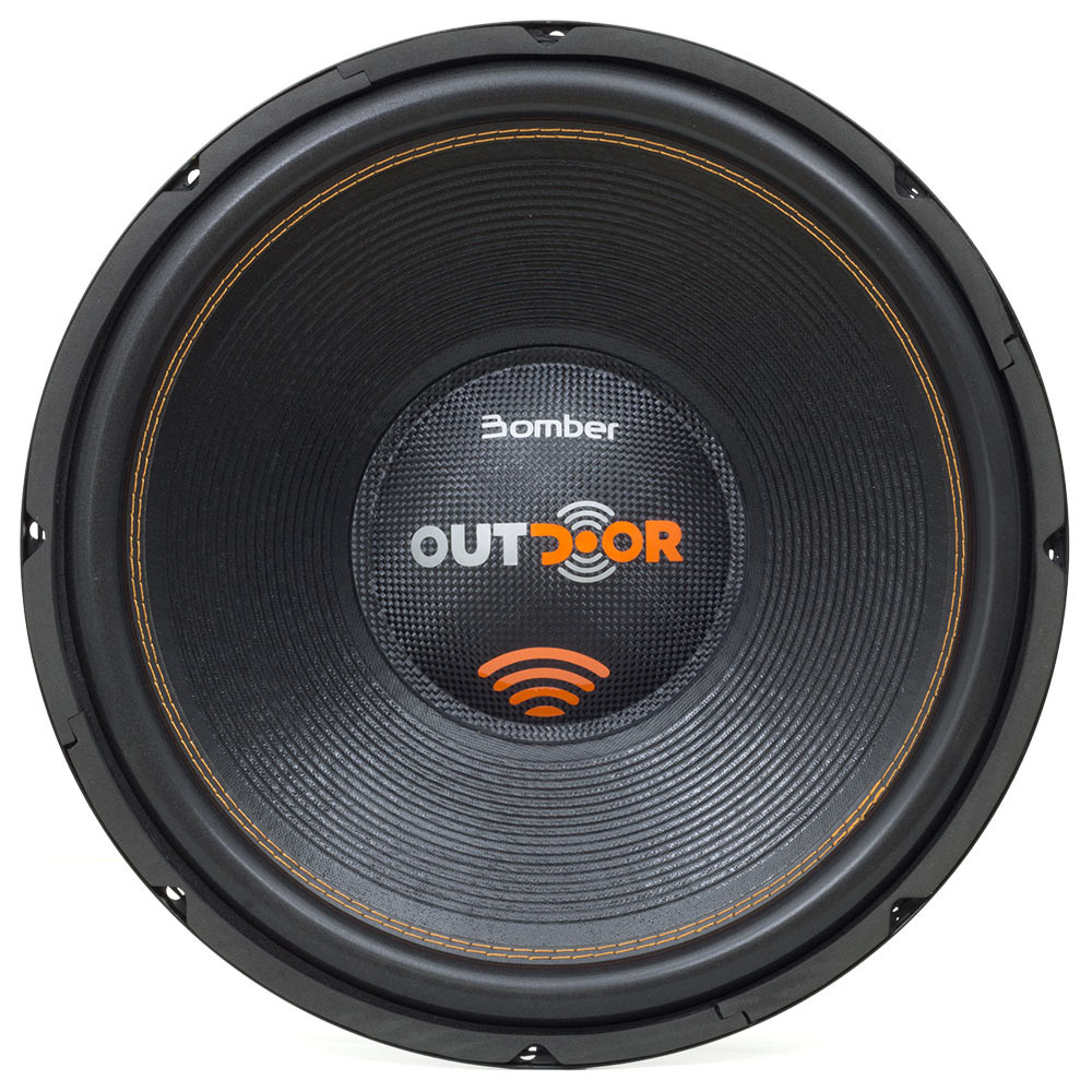 """Subwoofer 15"""" Bomber Outdoor - 500 Watts RMS - 4 Ohms"""