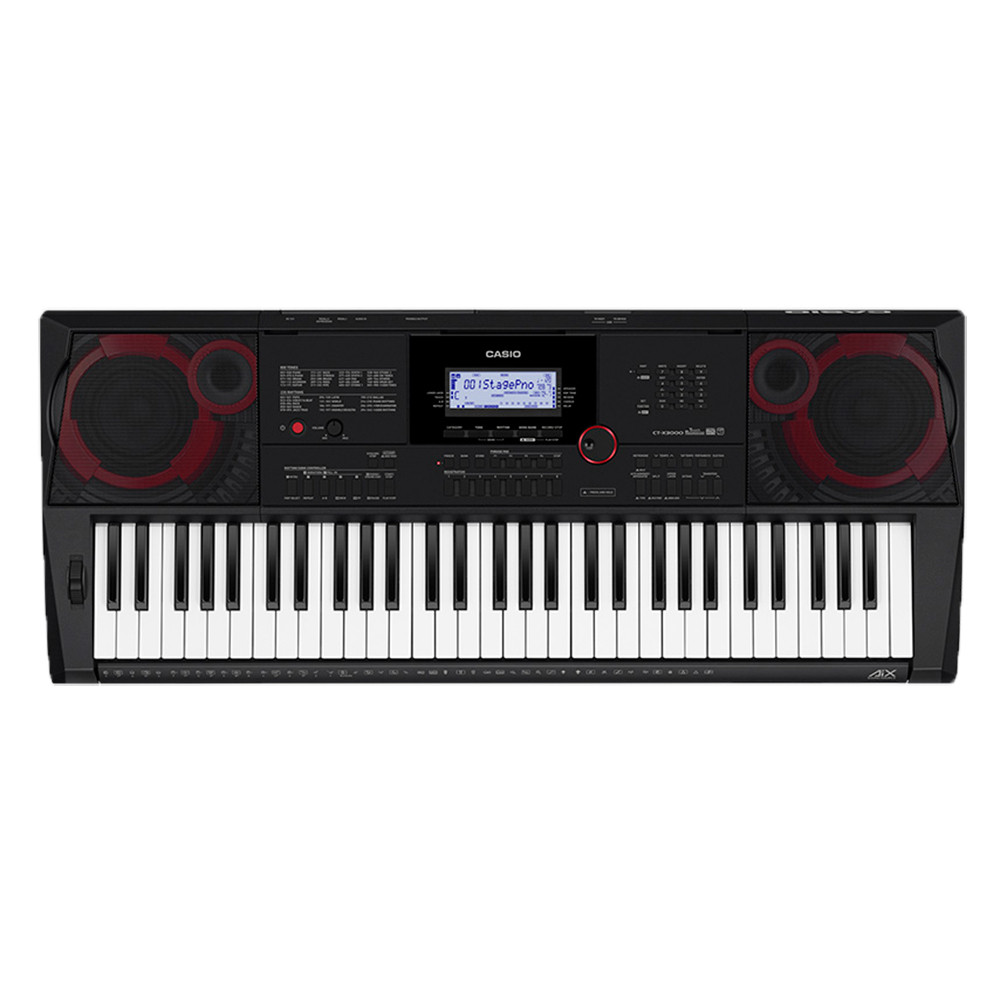 Teclado Musical Casio Digital CT-X5000 Preto