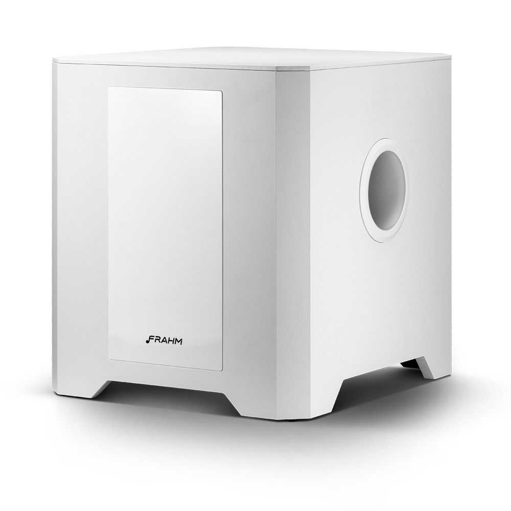 Subwoofer Ativo Frahm RD SW 12 - 300 Watts RMS - Branco
