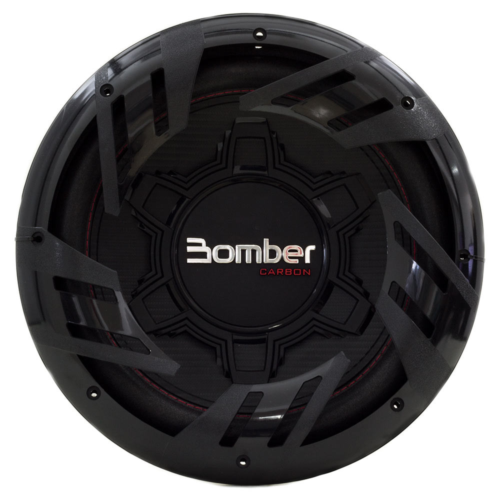 """Subwoofer 12"""" Bomber Carbon - 250 Watts RMS - 4 Ohms"""