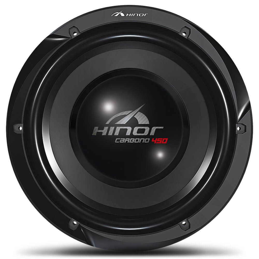 "Subwoofer 12"" Hinor Carbono 450 - 225 Watts RMS"