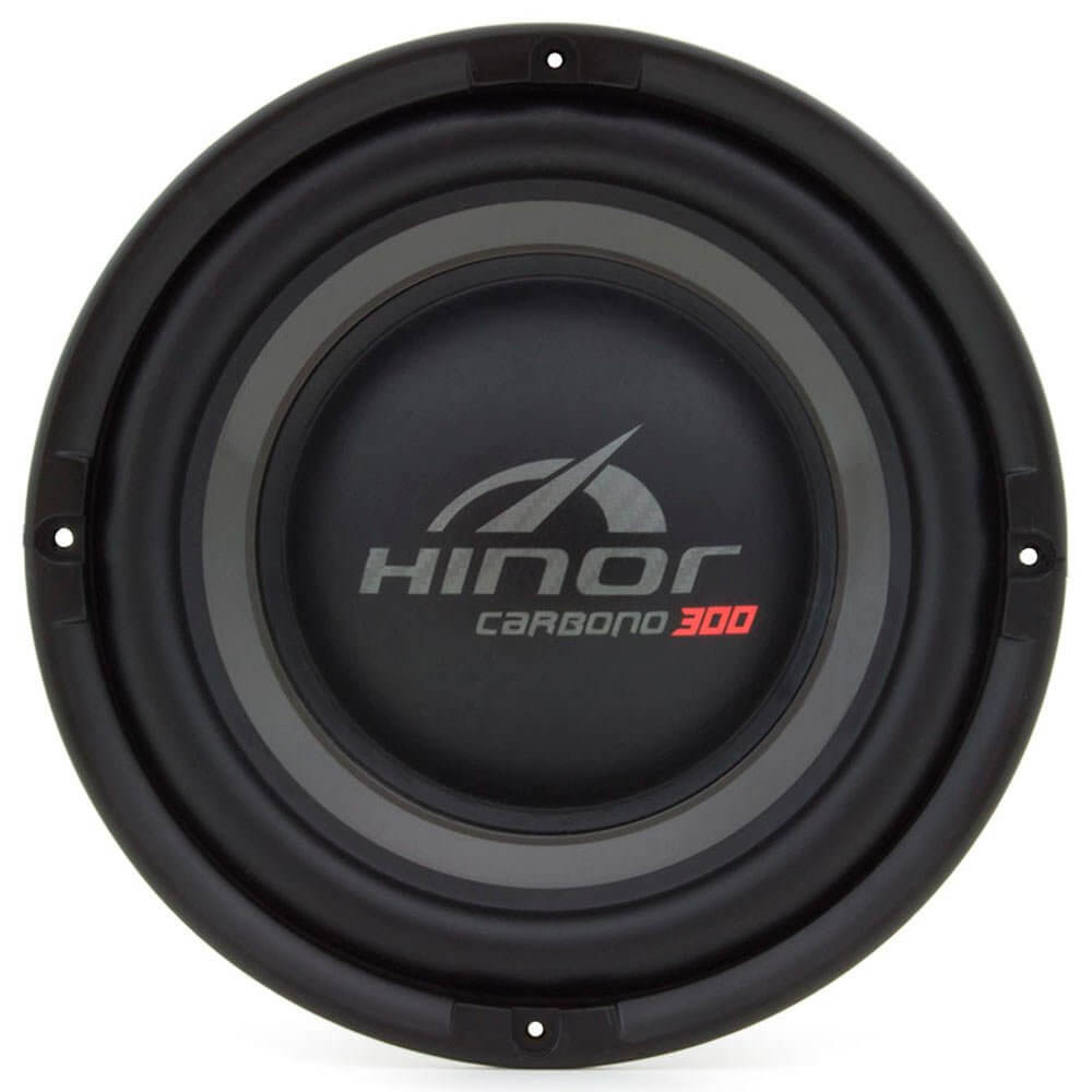 "Subwoofer 8"" Hinor Carbono 300 - 150 Watts RMS - 4 Ohms"