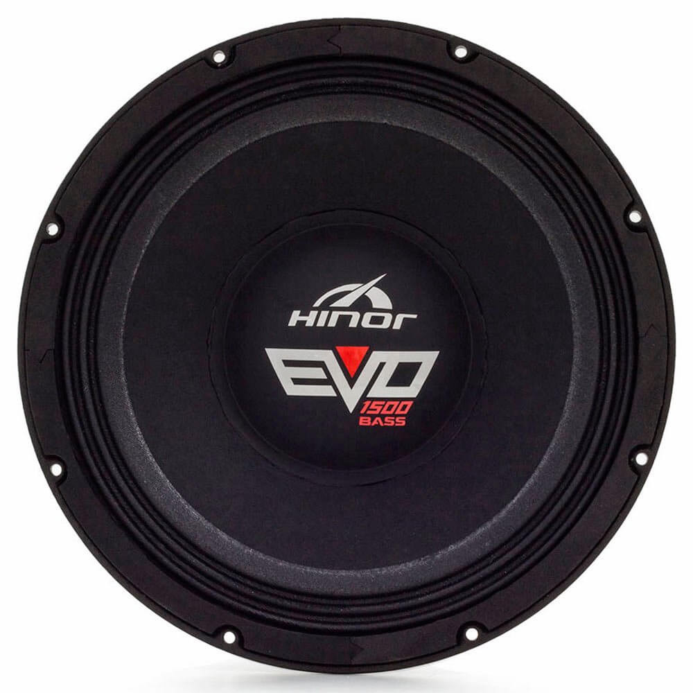 "Woofer 12"" Hinor Evo 1500 Bass - 1500 Watts RMS - 4 Ohms"