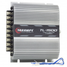 Módulo Amplificador Digital Taramps TL 1500 3 Canais 390 Watts RMS 2 Ohms Som Automotivo