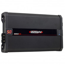 Módulo Amplificador Digital SounDigital SD8000.1D EVO 2.1 Black - 1 Canal - 10448 Watts RMS - 1 Ohm