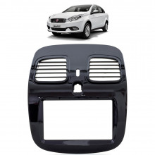 Moldura 2 Din Fiat Grand Siena - Black Piano 3251