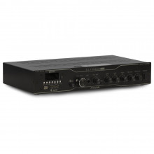 Receiver de Som Ambiente Frahm SLIM 3500 APP Multi-channel USB, SD, FM e Bluetooth - Até 50 Caixas