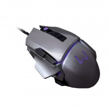 Mouse Warrior Gamer 3200 DPI Grafite USB - MO262