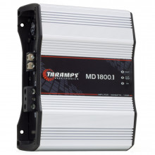 Módulo Amplificador Digital Taramps MD 1800 1 Canal 1800 Watts RMS 1 Ohm Som Automotivo