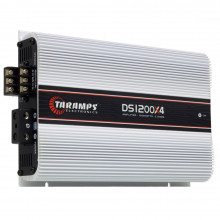Módulo Amplificador Digital Taramps DS 1200 4 Canais 1200 Watts RMS 2 Ohms Som Automotivo