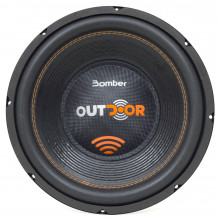 "Subwoofer 12"" Bomber Outdoor - 500 Watts RMS - 4 Ohms"