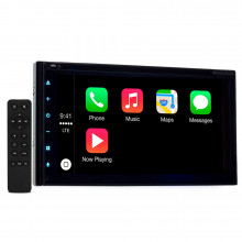 "Central Multimídia 2 Din Bluetooth Multilaser Android Auto Apple Carplay Evolve X Tela 7"" Full Touch GP331"