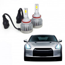 Kit Lâmpada Super LED Automotiva Multilaser H11 - 6200K - 30 Watts - AU837