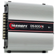 Módulo Amplificador Digital Taramps DS 800 4 Canais 800 Watts RMS 1 Ohm Som Automotivo