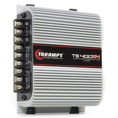 Módulo Amplificador Digital Taramps TS400 4 Canais 400 Watts RMS 2 Ohms Som Automotivo