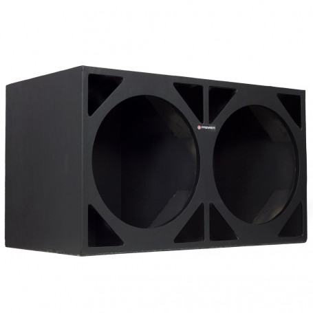 Caixa Premier Audio Dutada Full Power para 2 Alto-Falantes de 15""