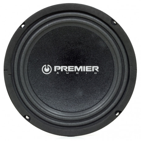 "Subwoofer 8"" Premier Audio Slim - 280 Watts RMS - 4 Ohms"