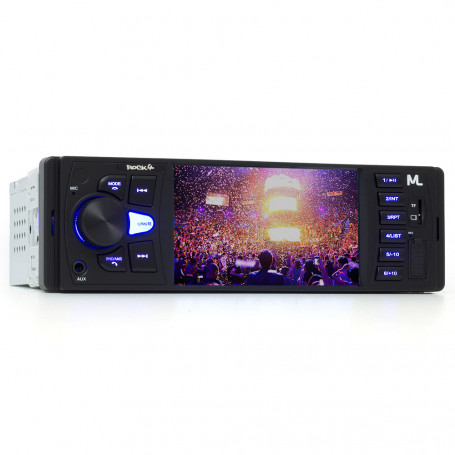 "Media Player MP5 Multilaser Rock 4 Tela 4"" - USB, SD, Aux e Bluetooth - P3325 Outlet"