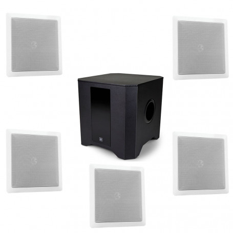 Kit Home Theater Frahm com Arandelas + Subwoofer Ativo