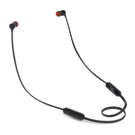 Fone de Ouvido JBL T110BT Pure Bass In Ear com Microfone Bluetooth Preto