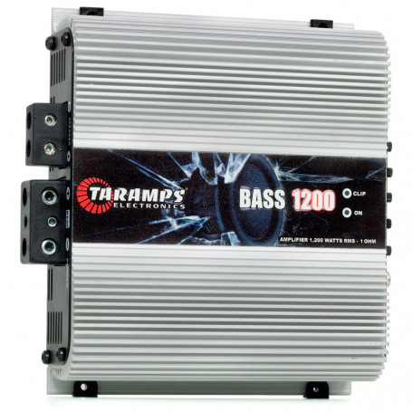 Módulo Amplificador Digital Taramps Bass 1200 1 Canal 1200 Watts RMS 1 Ohms Som Automotivo