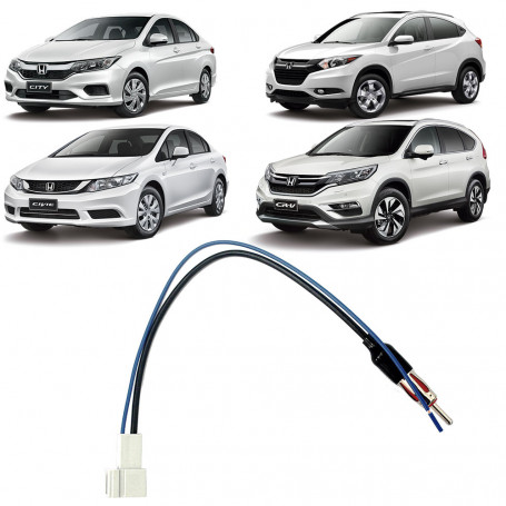 Adaptador de Antena Honda City, Civic, CRV e HR-V EXC 04