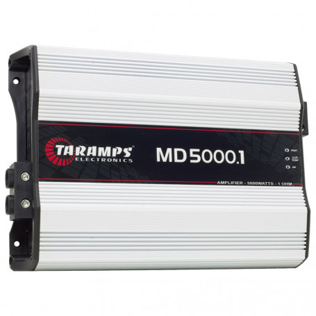 Módulo Amplificador Digital Taramps MD 5000 1 Canal 5000 Watts RMS 1 Ohm Som Automotivo
