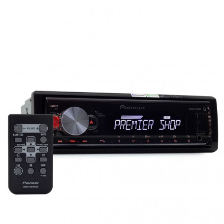 MP3 Player Automotivo Pioneer MVH-X700BR Flashing Light - USB, Aux e Bluetooth