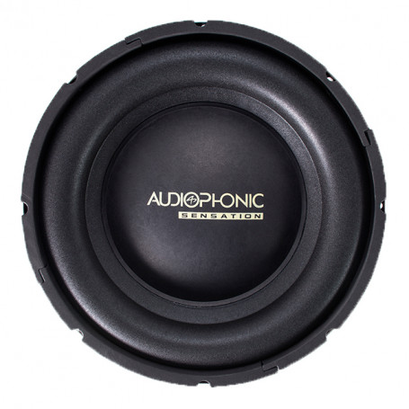 "Subwoofer 10"" Audiophonic Sensation S1-10 S2 - 200 Watts RMS - 2 Ohms"
