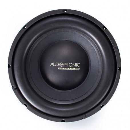 "Subwoofer 12"" Audiophonic Sensation S1-12 S2 - 250 Watts RMS - 2 Ohms"