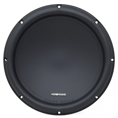 "Subwoofer 12"" Audiophonic Club C1-12 D4 - 400 Watts RMS - 4+4 Ohms"