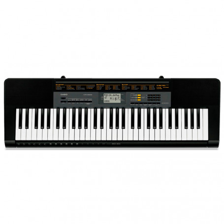 Teclado Musical Casio Digital CTK-2500 Preto