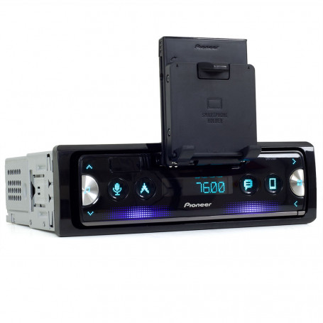 MP3 Player Automotivo Pioneer SPH-C10BT 1 Din Smartphone Receiver - USB e Bluetooth