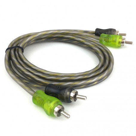 Cabo Rca Technoise - Series 200P - 1,00 M - 4 Mm - Conector Pvc - R