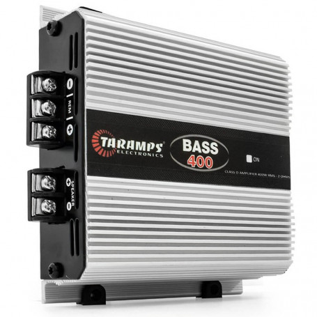 Módulo Amplificador Digital Taramps Bass 400 1 Canal 400 Watts RMS 2 Ohms Som Automotivo