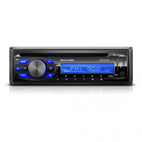 CD Player Automotivo Multilaser Freedom - USB e Aux - P3239