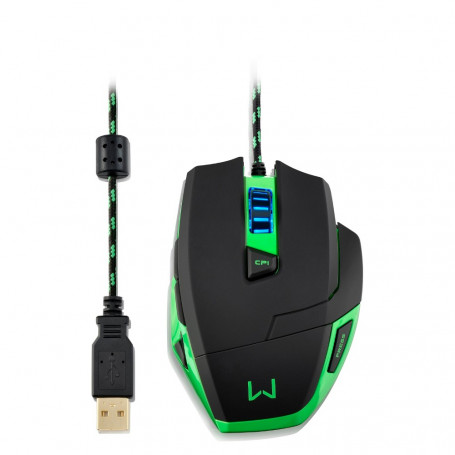 Mouse Multilaser Gamer Warrior 3200 DPI - MO245
