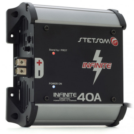 Fonte Automotiva Digital Stetsom Infinite 40A Bivolt 1000 Watts RMS 14.4 Volts