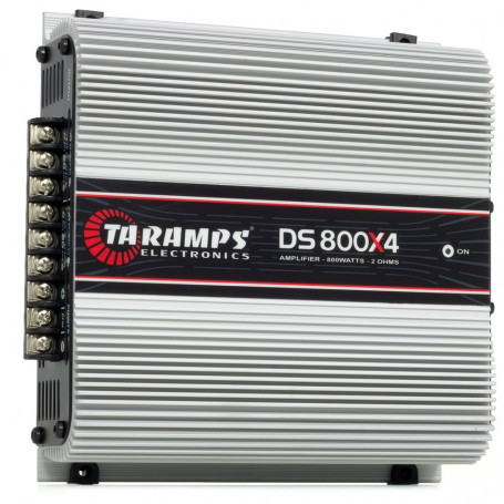 Módulo Amplificador Digital Taramps DS800x4 - 4 Canais - 800 Watts RMS - 2 Ohms