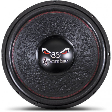 """Subwoofer 15"""" Bomber Bicho Papão - 600 Watts RMS - 4 + 4 Ohms"""