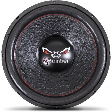 """Subwoofer 15"""" Bomber Bicho Papão - 800 Watts RMS - 4 + 4 Ohms"""