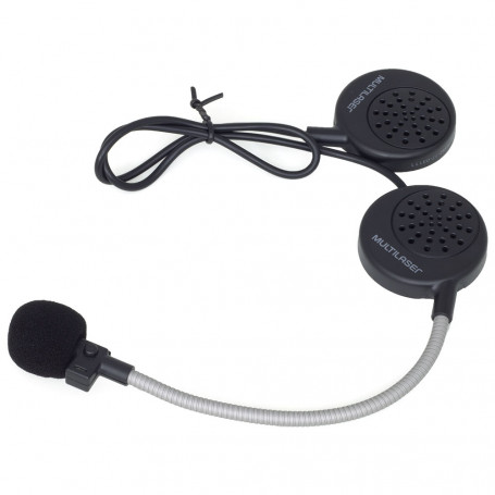 Headset para Capacete Multilaser Bluetooth Handsfree - MT603