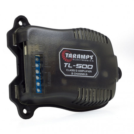 Módulo Amplificador Digital Taramps TL 500 2 Canais 100 Watts RMS 2 Ohms Som Automotivo